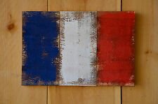 Rustic French Flag