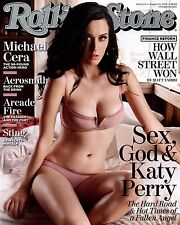 Katy Perry Rolling Stones Cover Wall Poster Print Art Decoration 16x20 Inches