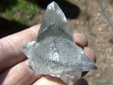 TOP CHOICE__PHANTOMS___LARGE Linwood Mine Scalenohedral Calcite CRYSTAL CLUSTER
