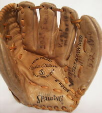 Spalding Richie Allen Baseball Glove 42-387 Made Japan Signature Model Leather