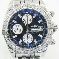 Breitling Windrider Chronomat swiss luxury wrist watch bdw1