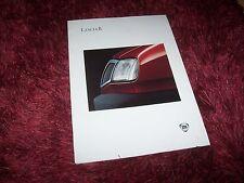 Catalogue / Brochure LANCIA Delta 1993 //
