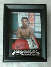 Muhammad Ali Mini Boxing Glove Display Great Gift for the Holidays