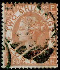 More details for sg121, scarce 2s brown, used. cat £4250. ph