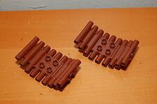 Lot of 2 Lego Duplo Bridge Brown