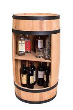 Wooden Barrel, Barrel Bar, minibar 81cm, Wine cabinet, whisky bar, Manufacturer!