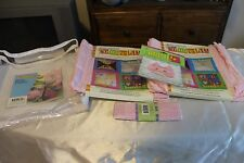 2002 Daisy Kingdom Connect It No Sew Craft Squares NOSIP Pink Baby Caddy
