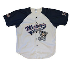 Vintage Steamboat Willie Baseball Jersey Size Xl