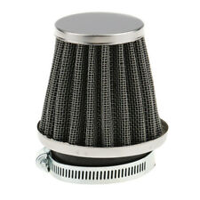 Motorcycle 50mm Air Filter Intake Impurities Dust Cleaner Breather