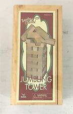 Cardinal Games Tumbling Tower In Wood Box Retro  GAME New Sealed