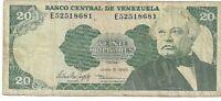 Billete, 20 Bolivares, 1995, Venezuela, 1995-06-05,