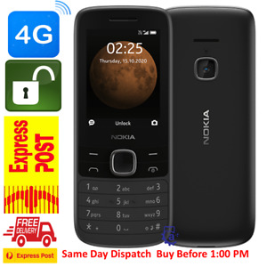 Nokia 225 (4G, FM Radio, Bluetooth,Torch, Keypad) Free Express Shipping AU STOCK