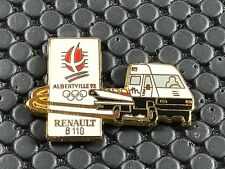 pins pin BADGE CAR RENAULT CAMION TRUCK ALBERTVILLE 92 B 110