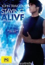 Staying Alive DVD DRAMA MUSIC ROMANCE John Travolta BRAND NEW Region 4