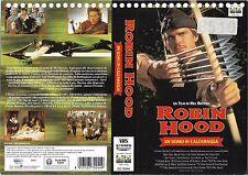 ROBIN HOOD UN UOMO IN CALZAMAGLIA (1993) vhs ex noleggio