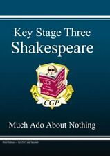 KS3 Shakespeare Much Ado About Nothing Revision Guide,CGP Books