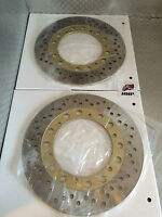 YAMAHA RD500LC REPLACEMENT FRONT BRAKE DISCS NEW 1GE