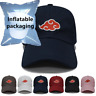Hot Naruto0 Dad Hat Adjustable Snapback Uchiha Akatsuki Logo Baseball Cap Cotton