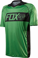 Fox Head Attack Short Sleeve Mountain Bike Jersey Green Size Small