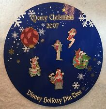 Disney Merry Christmas Holiday Pin Tree Jessica 6 Pin Set LE