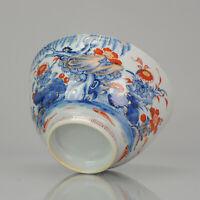 Antique Large 18th Century Chinese Imari Porcelain Kangxi Bowl. Top Quality