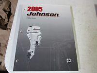 2005 Johnson outboard motor factory service manual 4 stroke 30 hp 5005992