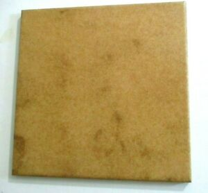 "Marazzi Italy Atomar 8"" Sq. Porcelain Satin Brown 1 Simulated Stone Floor Tile"