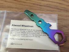 Peter Atwood - NEW Wheelman Wheel man Titanium Ti Anodized - Multi-Color