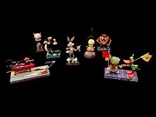 Jim Shore Looney Tunes 7-Piece Starter Set! Bugs Bunny! Tweety! Taz! NIB