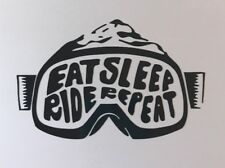 Snowboard Sticker - Snowboarding Mountain Sports Freestyle Ski Oakley Burton