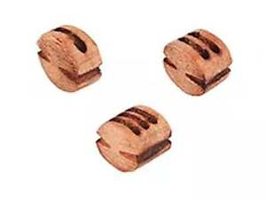 F30B2 Block, double 3 mm, pear (10 pcs/ pack), for wooden kit Ship