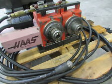 Haas Ha5c 2 2 Spindle 5c Programmable Rotary Table With Pneumatic Collet Closer