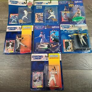 Lot Of 7 Starting Lineup Baseball Figures Vtg 1990s McGwire Griffen Jr. Delgado
