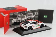 Porsche 911 RSR 24H Le Mans 2020 #91 rot weiss 1:43 Spark  Dealer WAP