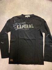 T-Shirt - Enfant - Taille 16 ans - Marque KAPORAL - Noir - manches longues