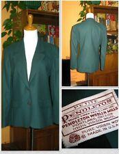 Sensational Career PENDLETON Classic Blazer/Jacket - 100% Wool - Size 10 - USA