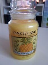 Williamsburg Pineapple Large Yankee Candle Deerfield HTF