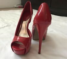 Just Fab Red Pumps Size 7