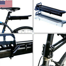 US Bike Rear Rack Mount Seat Post Mount Pannier Luggage Carrier Holder Aluminum