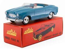 SOL1001081 - Voiture Cabriolet de couleur Bleue - PEUGEOT 403  -  -