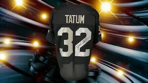 JACK TATUM AUTOGRAPHED CUSTOM OAKLAND RAIDERS JERSEY JSA AUTHENTICATED