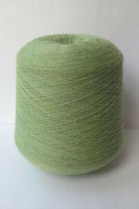 Zegna Baruffa Extra Fine Merino Knitting Yarn Apple Green