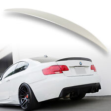 BMW E92 SPOILER 3 SERIES BOOT WING TRUNK M3 GT REAR PERFORMANCE LIP UK STOCK