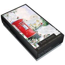 Tom Smith Premium Luxury Christmas Cards Packs of 20- 2 designs