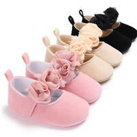 Anti-slip Prewalker Baby Newborn Toddler Girl Crib Shoes Pram Soft Sole Sneakers