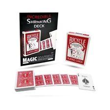 Bicycle Incredible Shrinking Deck by Magic Makers - Fun Card Magic Trick