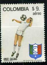 ONCE CALDAS,-FUTBOL OF >>  COLOMBIA   MNH 1982