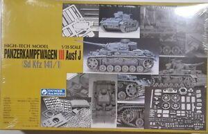Gunze Sangyo 1/35 High-tech Model Panzerkampfwagen III Ausf J Sd Kfz 141/1