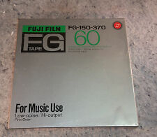 """Fuji FG-150-370 Reel To Reel Tape 7"""" New Sealed in factory plastic wrap"""