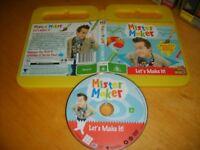 MISTER MAKER: LET'S MAKE IT! (5 Episodes) - ABC For Kids DVD Issue - Region 4